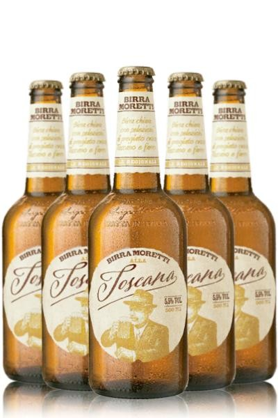 Birra MORETTI Toscana Kiste 20 x 500 ml / 5.5 % Italien