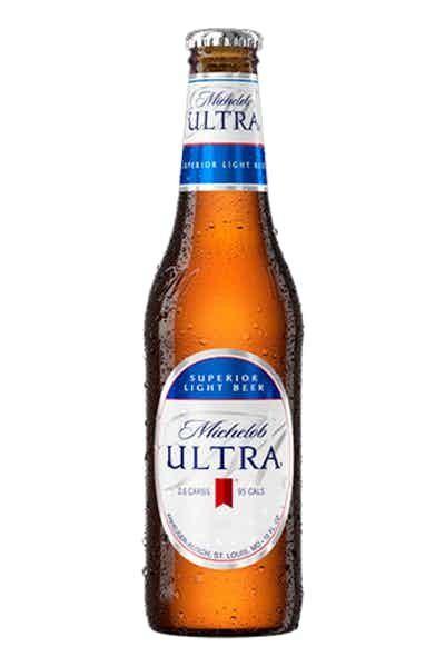Michelob ULTRA Superior Light Bier GLASFLASCHE 355 ml / 4.2 % USA