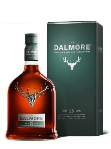 The DALMORE 15 Years Highland Single Malt Scotch Whisky 70 cl / 40 % Schottland