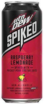 Mountain Dew SPIKED Lemonade RASPBERRY 473 ml USA