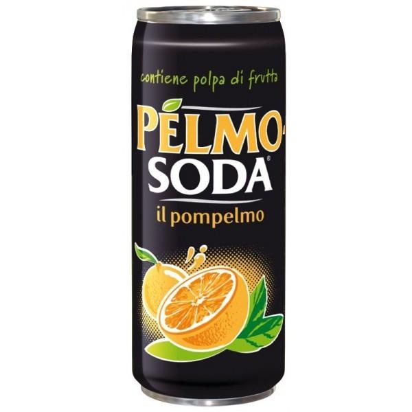 Pelmo Soda in pompelmo 330 ml Italien