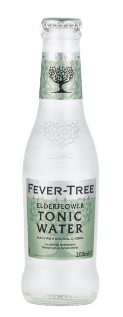 CBD Tonic Water 250ml - Elderflower