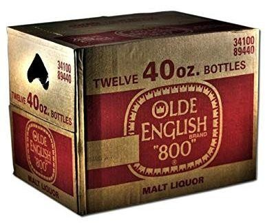 OLDE ENGLISH 800 Malt Liquor Kiste 12 x 1.2 Liter PET / 6 % USA