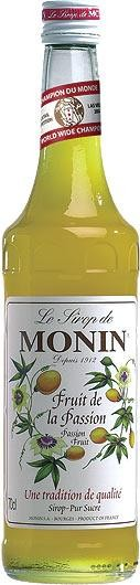 MONIN Premium Fruit de la Passion / Passion Fruit Sirup 70 cl Frankreich