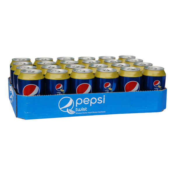Pepsi TWIST Cola 330 Kiste 24 x ml UK