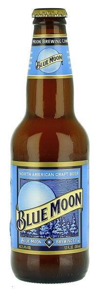 BLUE MOON Wheat Beer 330 ml / 5.4 % USA