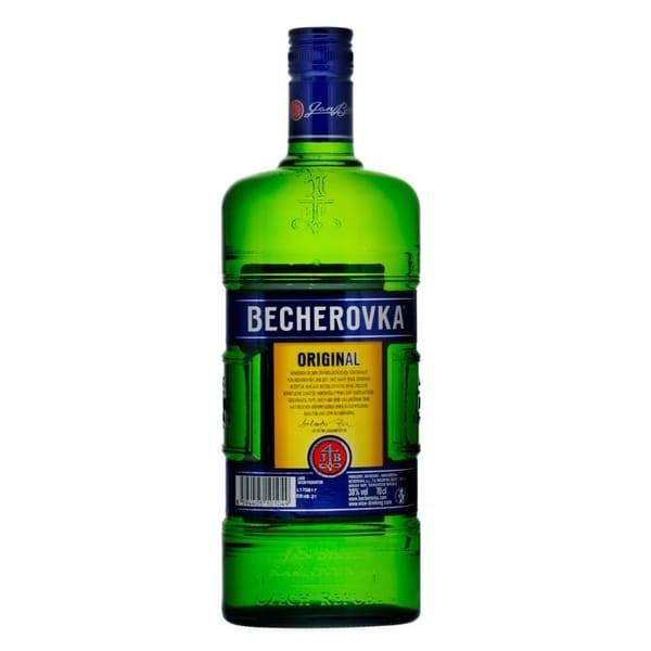BECHEROVKA Original Carlsbad Bitter 70 cl / 38 % Tschechien