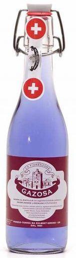 GAZOSA Fiorenzana AL MIRTILLO Bügelflasche 350 ml Schweiz