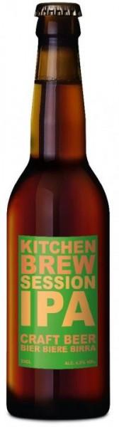 Kitchen Brew SESSION IPA 24 x 330 ml / 4.5 % Schweiz