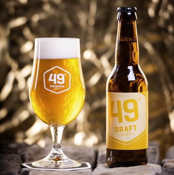 49 er Premium Bier DRAFT Kiste 20 x 330 ml / 5.0 % Schweiz