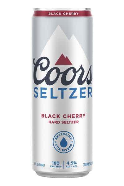 COORS Hard Seltzer BLACK CHERRY 355 ml / 4.5 % USA