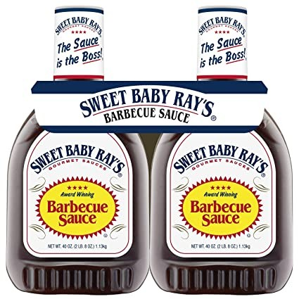 SWEET BABY RAY'S Award Winnig Barbecue Sauce 2 x 1.3 Kg USA