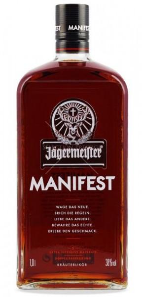 Jägermeister MANIFEST 1 Liter / 38 % Deutschland