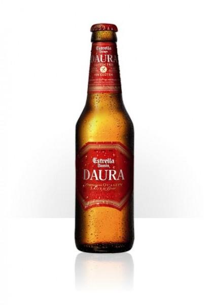 Estrella DAURA Glutenfreies Bier 330 ml / 5.4 % Spanien