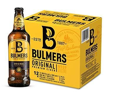Bulmers Cider Case 12 x 500 ml / 4.5 % Irland