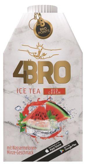4Bro Ice Tea RED CRASH 500 ml Deutschland