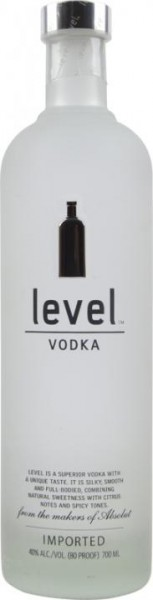 Absolut LEVEL Limited Edition 70 cl / 40 % Schweden