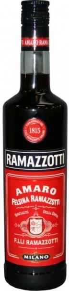 RAMAZZOTTI AMORO Bitter 70 cl / 30 % Italien