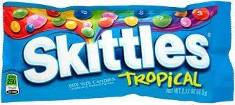 Skittles TROPICAL 61.5 Gramm USA