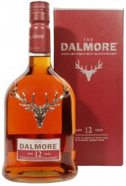The DALMORE 12 Years Highland Single Malt Scotch Whisky 70 cl / 40 % Schottland