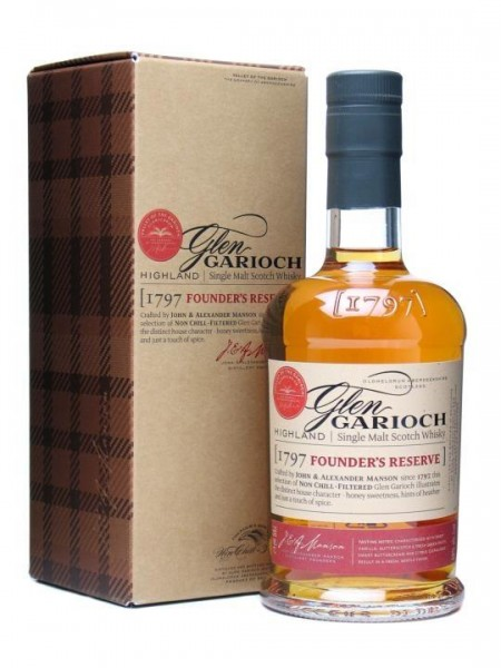 Glen Garioch Founder`s Reserve Single Malt Whisky 70 cl / 48 % Schottland