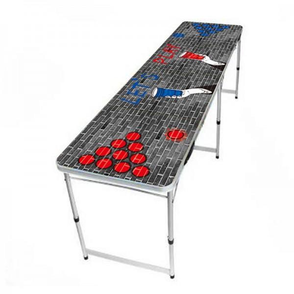 Beer Pong Tisch zusammenklappbar