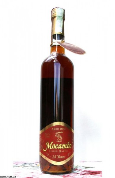 Mocambo Rum Single Barrel 15 Jahre MINIATURE 5 cl / 40 % Mexiko