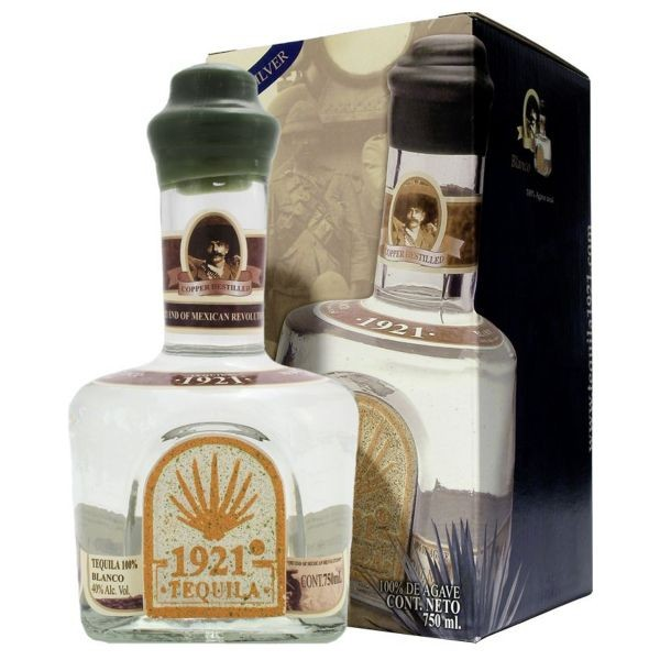 1921 Tequila Blanco 100 % Agave 70 cl / 40 % Mexiko