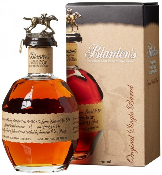 Blanton`s Single Barrel Bourbon Whiskey 70 cl / 46 % USA