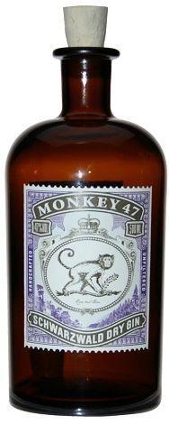 MONKEY 47 Schwarzwald Dry Gin 50 cl / 47 % Deutschland