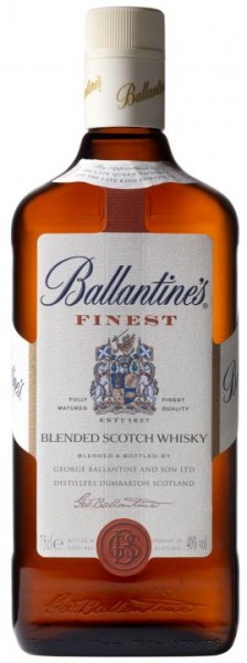 Ballantine's FINEST Blended Scotch Whisky 70 cl / 40 % Schottland