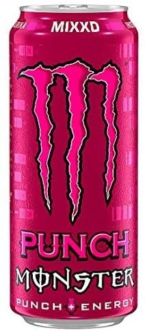 MONSTER MIXXD PUNCH + ENERGY 500 ml UK