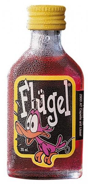 Flügel Johannisbeer Shot mit Koffein 20 ml / 15 % Holland