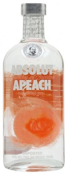 Absolut Vodka APEACH 70 cl / 40 % Schweden