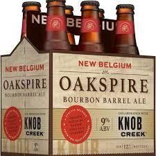 New Belgium OAKSPIRE Kiste 24 x 355 ml / 9 % USA