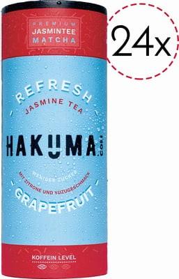 HAKUMA REFRESH Premium JASMINTEE CartoCan Kiste 24 x 235 ml Österreich