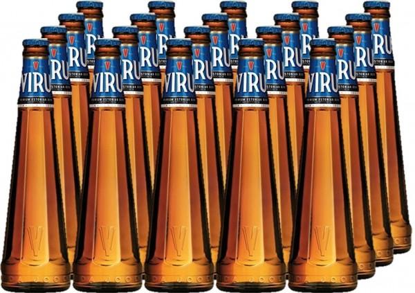 VIRU Premium Estonian Beer 24 x 300 ml / 5 % Estland
