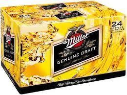 Miller Genuine Draft Bier Case 24 x 330 ml / 4.7 % USA