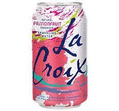 La Croix Water PASSIONFRUIT Sparkling Water 355 ml USA