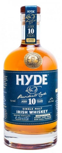 Hyde Irish Single Malt Sherry Finish 10 Years 70 cl / 46 % Irland