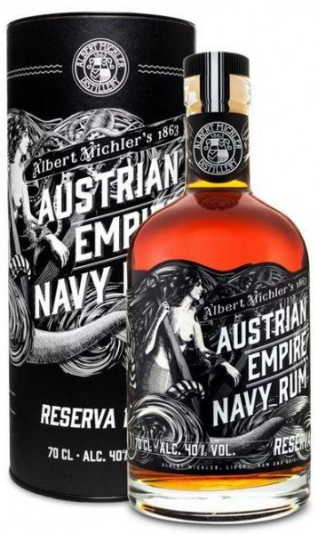 Austrian Empire Navy Rum Reserve 1863 70 cl / 40 % Karibik