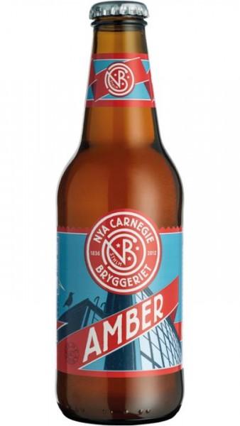 NYA Carnegie AMBER Beer 330 ml / 4.8 % Schweden