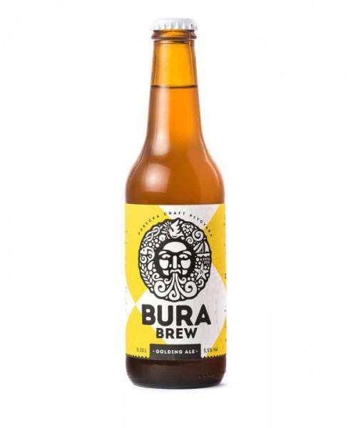 BURA BREW GOLDING ALE Kiste 24 x 330 ml / 5.5 % Kroatien