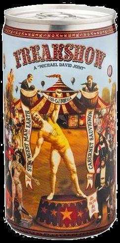 Michael David FREAKSHOW 2017 Cabernet Sauvignon Dose 18.7 cl / 14.5 % USA