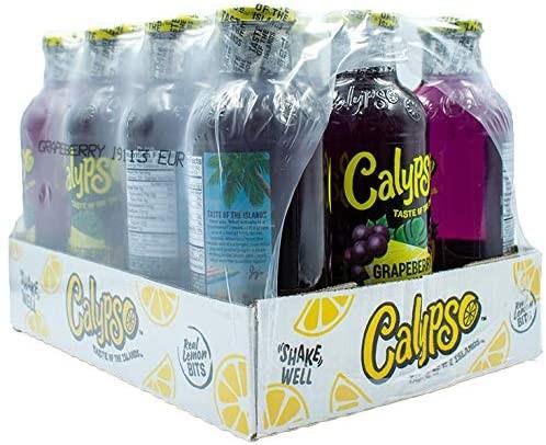 CALYPSO Grape Lemonade Kiste 12 x 591 ml USA