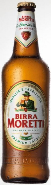 Birra MORETTI Premium Lager 330 ml / 4.6 % Italien