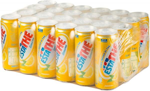 EstaThe alla Limone Dose Kiste 24 x 330 ml Italien