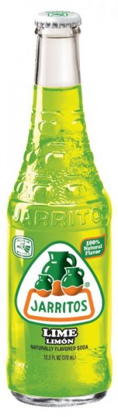 JARRITOS Lime natural flavor soda 370 ml Mexiko