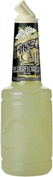 Finest CALL Premium ELDERFLOWER Syrup Alkoholfrei 1 Liter USA