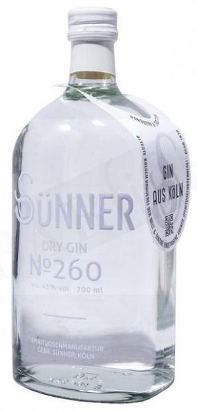 SÜNNER DRY GIN No 260 70 cl / 43 % Deutschland